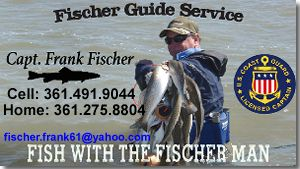 Captian Frank Fischer, Fishing & Waterfowl Hunting Guide
