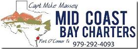 Welcome to Mid Coast Bay Charters Captain Mike Massey Wade, drift, and jetty fishing in Matagorda Bay, Espiritu Santo Bay, San Antonio Bay.